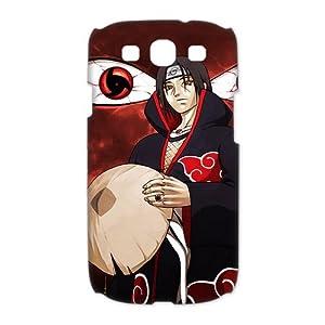 Custombox Uchiha Itachi Samsung Galaxy S3 I9300 Case Hard Case Plastic Hard Phone Case-Samsung Galaxy S3-DF00682