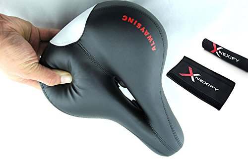 Nexify Silicone Cushion Bicycle Accessories Saddle Seat MTB Big Ass Super Soft Generic