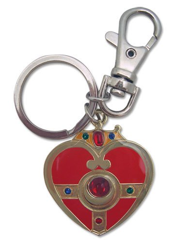 Cosmic Heart Compact Metal Sailor Moon Key Chain GE Animation - 1