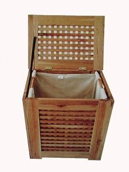 holz w schetruhe inkl leinesack k che amp. Black Bedroom Furniture Sets. Home Design Ideas