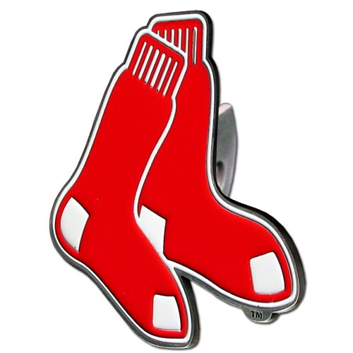 Boston Red Sox Logo Trailer Hitch Cover