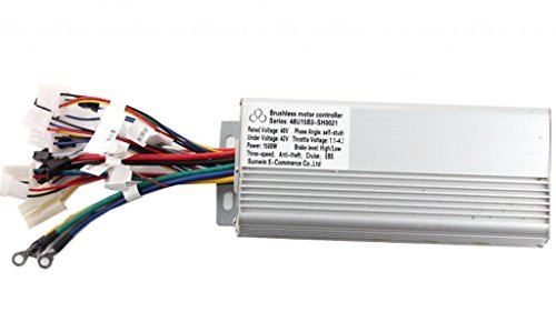 Generic 48V 500W Brushless Speed Motor Controller For E-Bike & Scooter Electric Bicycle