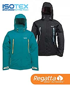 Regatta Alycia Womens Blue 3in1 Waterproof Breathable Isotex 20000 XPT Jacket (Sea Breeze) RWP040