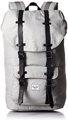 [ハーシェルサプライ] Herschel Supply公式 Little America 10014-00950-OS Lunar Rock/Black Died Veggie Tan Leather (Lunar Rock/Black Died Veggie Tan Leather)