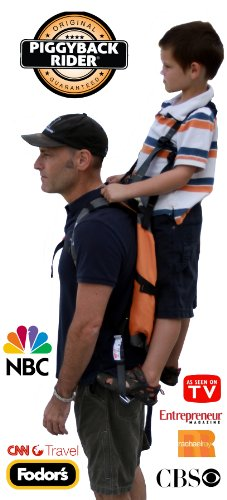 New NEW Piggyback Rider Standing Child Carrier Deluxe