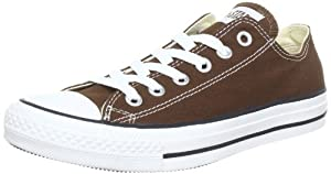 Converse Chuck Taylor All Star Low Top Chocolate Canvas Shoes (1Q112), Size: 6 D(M) US Mens / 8 B(M) US Womens, Color: Chocolate
