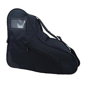 Black Roller Skate Bag - Black Ice Skate Sack - Roller Derby Tote by Epic Skates