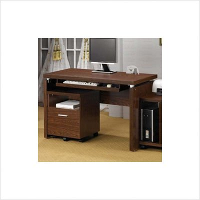 Buy Low Price Comfortable Computer Desk in Oak – Coaster (B002LIM1N8)