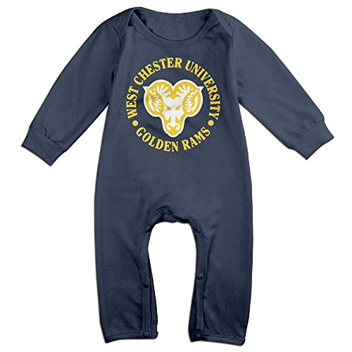 HOHOE Boy's & Girl's West Chester University WCUPA Long Sleeve Outfits 18 Months