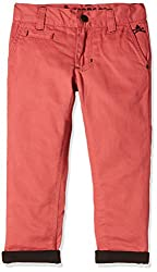 UFO Boys' Trousers (AW16-NDF-BKT-285_Coral_4 - 5 years)