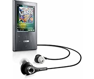 Philips Ariaz MP3-/Video-Player 8 GB (5,08 cm (2 Zoll) LC-Display)