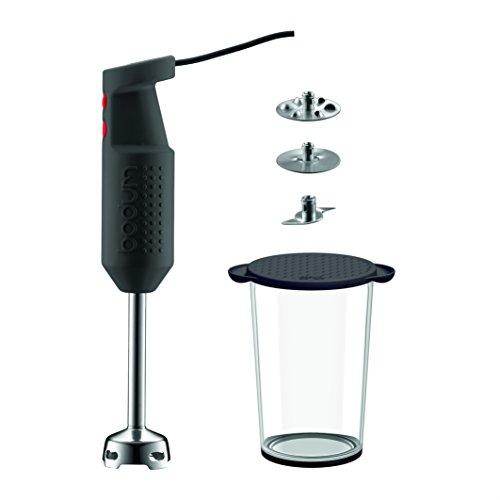 Bodum Bistro Electric Handheld Immersion Stick Blender, Black (Bodum Electric Hand Mixer compare prices)
