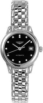 Longines Les Grandes Classiques Automatic Flagship Diamond Markers Tranparent Case Back Women's Watch