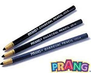 Peel Off Charcoal Pencils; 12 Count; no. DIX60200