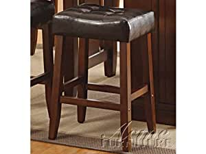 Acme furniture 10234 kitchen island counter height stools kitchen dining Home bar furniture amazon