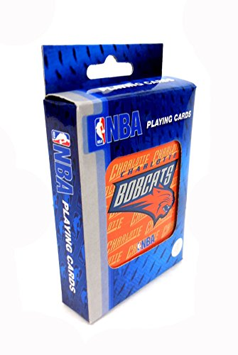 NBA Basketball Charlotte Bobcats Playing Cards - 1