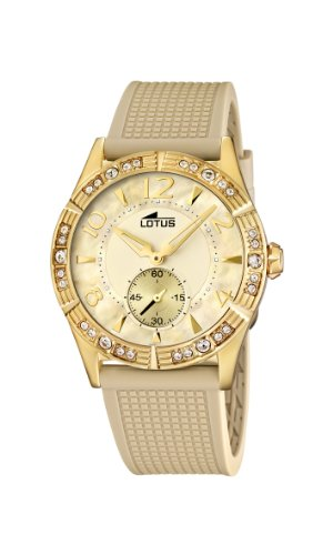 Lotus Women's Quartz Watch 15762/2 with Plastic Strap