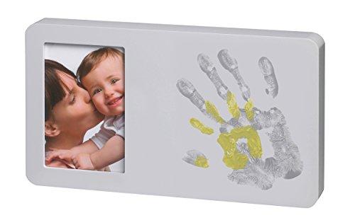 Baby Art - 34120141 - Duo Paint Print Frame - Portafoto con spazio per le impronte delle mani della mamma e del bebè