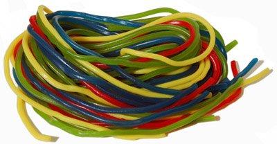 Licorice Rainbow Laces, 16 Oz