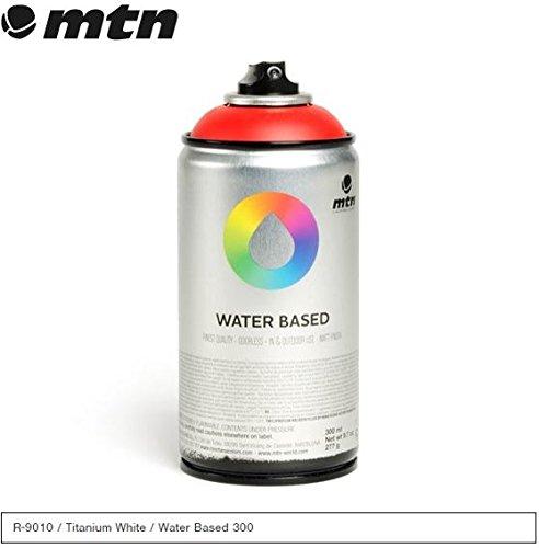 MTN Titanium White - RV-9010 300ml Water Based Spray Paint