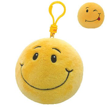 Ty Beanie Ballz Smiley - Clip