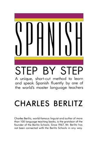 Spanish Step-by-Step (Language guides), Berlitz, Charles