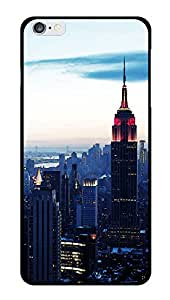 """Humor Gang Empire State Building Printed Designer Mobile Back Cover For """"Apple Iphone 6 - 6S"""" (2D, Glossy, Premium Quality Snap On Case)"""
