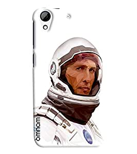 Omnam Neil Armstrong In Astronut Dress Printed Designer Back Cover Case For HTC Desire 626