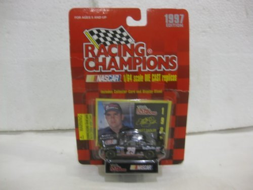 Elliott Sadler #29 Phillips 66 / Tropartic Chevy Monte Carlo Nascar In Black Diecast 1:64 Scale 1997 Edition By Racing Champions - 1