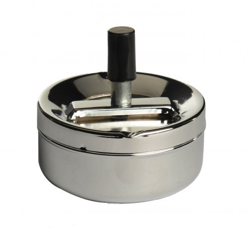 Sifcon Chrome Spinning Ash Tray