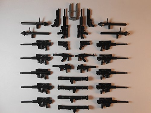 30 Guns for Lego Minifigures (Lego Minifigure Guns compare prices)
