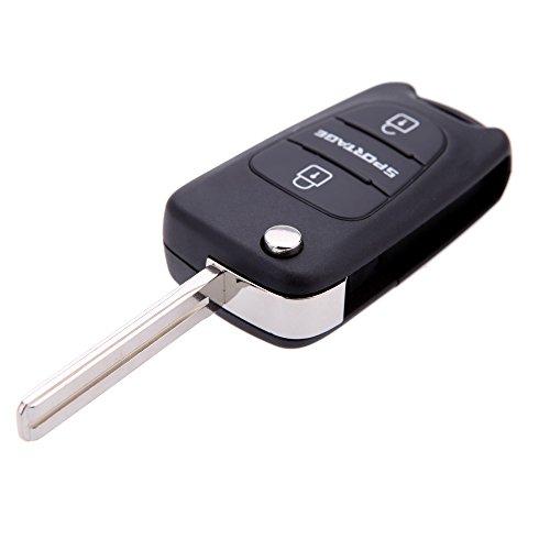 maxcresttm-flip-fob-remote-car-key-shell-fit-for-kia-sportage-2-button-key-replacement-keyless-uncut