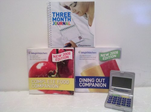 Weight Watchers 2008 Starter Kit Book  POINTS