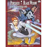 Punisher, Black Widow: Spinning Doomsdays web (Marvel graphic novel #74)