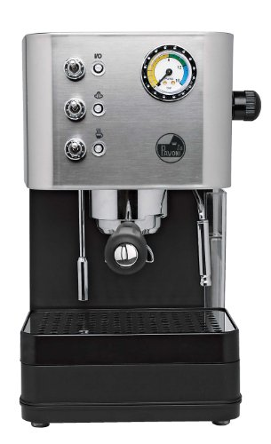 La Pavoni Puccino Brushed Steel Pump Espresso Machine