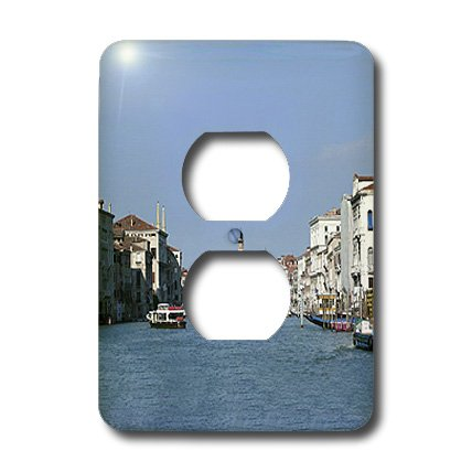 Lsp_3153_6 Vacation Spots - Venezia Italy - Light Switch Covers - 2 Plug Outlet Cover