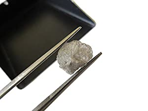 4.80 CTW White/Silver Raw Diamonds, Two Tone Rough Natural Uncut Diamonds, Loose Diamonds Sku-DdS207/5
