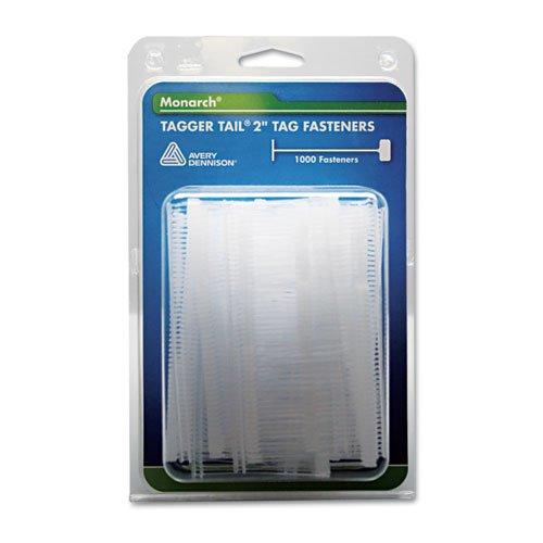 "Monarch - Tagger Tail Fasteners, Polypropylene, 2"" Long, 1,000/Pack 925045 (Dmi Pk"