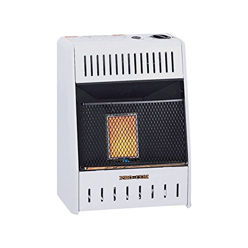 Procom Heating TV209316 6K BTU LP Wall Heater (Wall Heater Btu compare prices)