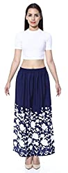 Navy Blue Garden Skirt