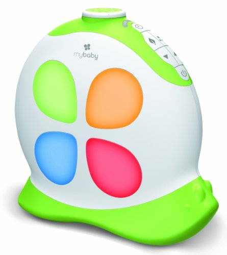 myBaby SoundSpa Sleepy Snail Projection Light and Noise Machine