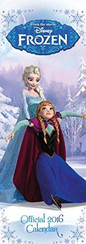 The Official Disney Frozen 2016 Slim Calendar (Calendar 2016)