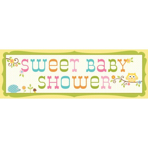 Creative Converting Happi Tree Sweet Baby Giant Party Banner