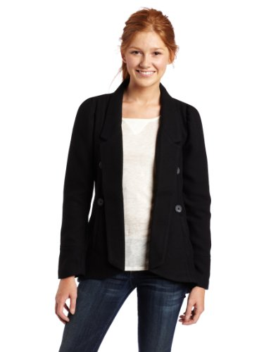 Jack Juniors Verdot Jacket, Black, Medium