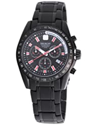 Swiss Military Hanowa Men's 06-5118-13-007 Supersonic Chronograph Black Dial Watch
