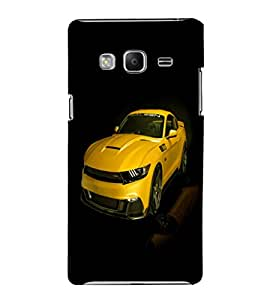 printtech Superfast Car Back Case Cover for Samsung Z3 :: :Samsung Z300H/DD