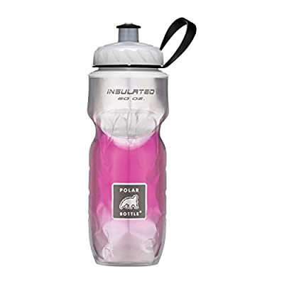 Polar Bottle Insulated Water Bottle Pixie 12 oz - 100% BPA-Free Water Bottle - Perfect Cycling or Sports Water Bottle - Dishwasher & Freezer Safe