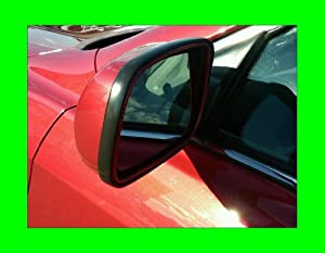 2004-2009 DODGE GRAND CARAVAN BLACK SIDE MIRROR TRIM MOLDINGS 2PC 2005 2006 2007 2008 04 05 06 07 08 09
