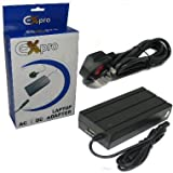 Ex-Pro 120w Laptop Notebook power supply AC adapter, Mains Cable, Selectable Voltage. Compatible with HP Compaq Business Notebook PC DG223T 19V 4.74A