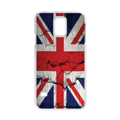 Generic Mobile Phone Cases Cover For Samsung Galaxy S5 Case Diy Customized Uk British Flag Union Jack Design Plastic Cell Phones Protective Shell Personalized Pattern Skin